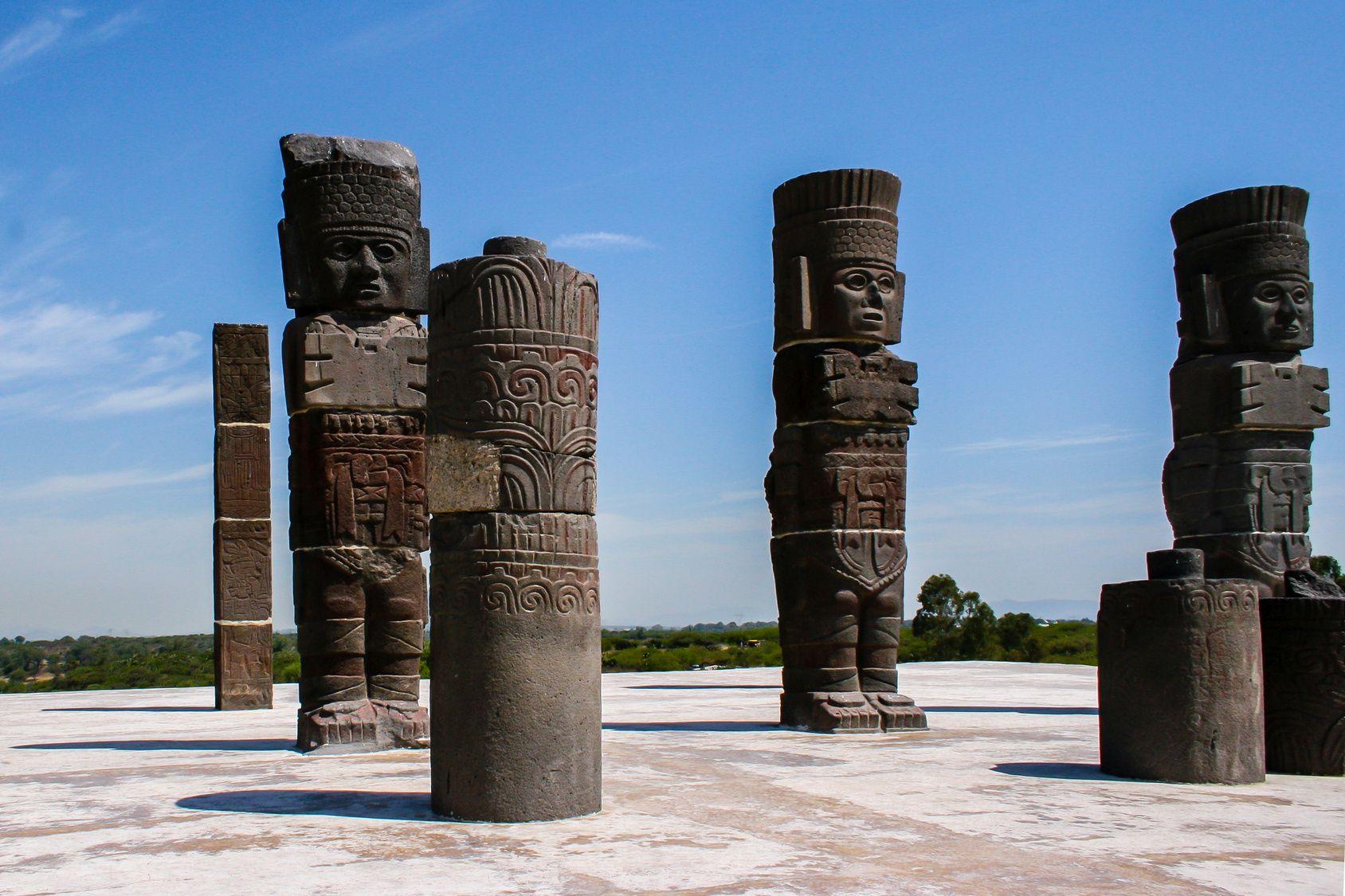 toltec-sculptures
